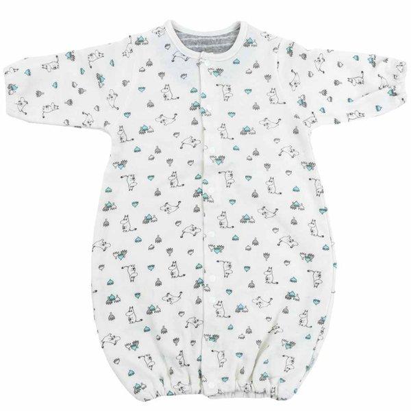 37a6cc169c7ab ベビーザらス限定 MOOMIN 新生児兼用ドレス ガーゼ裏毛 ムーミン 50-70cm ホワイト 通販 LINEポイント最大1.0%GET