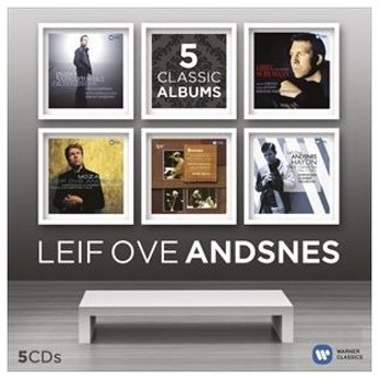 輸入盤 LEIF ANDSNES OVE / LEIF OVE ANDSNES - 5 CLASSIC ALBUMS [5CD]