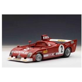 シグネチャーシリーズ 1/18 アルファロメオ 33 TT 12 1975(スパフランコルシャン1000km 優勝) ペスカローロ/ベル #2[オートアート]《取り寄せ※暫定》