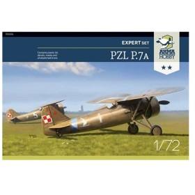 1/72 ポ・PZL7a単葉戦闘機 エキスパート版 プラモデル[Arma Hobby]《在庫切れ》