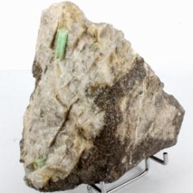 天然石 エメラルド コロンビア産 原石鉱物標本 1点〔D2-70-13〕