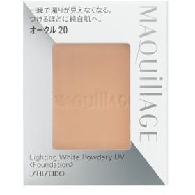 【メール便選択可】資生堂 マキアージュ ライティング ホワイトパウダリー UV オークル20 (レフィル)