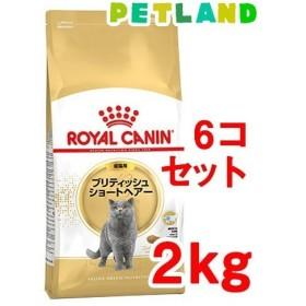 ロイヤルカナンFBN ブリティッシュ ショートヘアー 成猫用 ( 2kg6コセット )/ ロイヤルカナン(ROYAL CANIN)