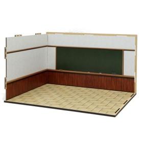 ジオラマルームM セット06(教室)[箱庭技研]《在庫切れ》