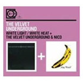輸入盤 VELVET UNDERGROUND / 2 FOR 1 : WHITE LIGHT/WHITE HEAT+THE VELVET UNDERGROUND & NICO [2CD]
