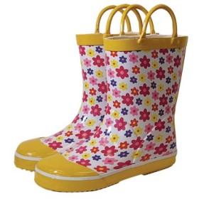 レインブーツ rain boots イングリッシュフラワー G55784 【Sサイズ 14cm】 ルミカ lumica マメールマディ 雨具 雑貨 長靴 くつ