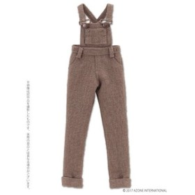 ピュアニーモサイズ こもれび森のお洋服屋さん♪「PNXSサロペットパンツ」 ダークブラウン (ドール用)[アゾン]《在庫切れ》
