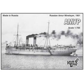 1/700 露機雷敷設艦アムール・Eパーツ付き・1901・日露 レジンキット[コンブリック]《在庫切れ》