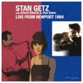 スタン・ゲッツ with アストラッド・ジルベルト&チェット・ベイカー(ts/vo/flh、vo) / ライヴ・フロム・ニューポート 1964 [CD]