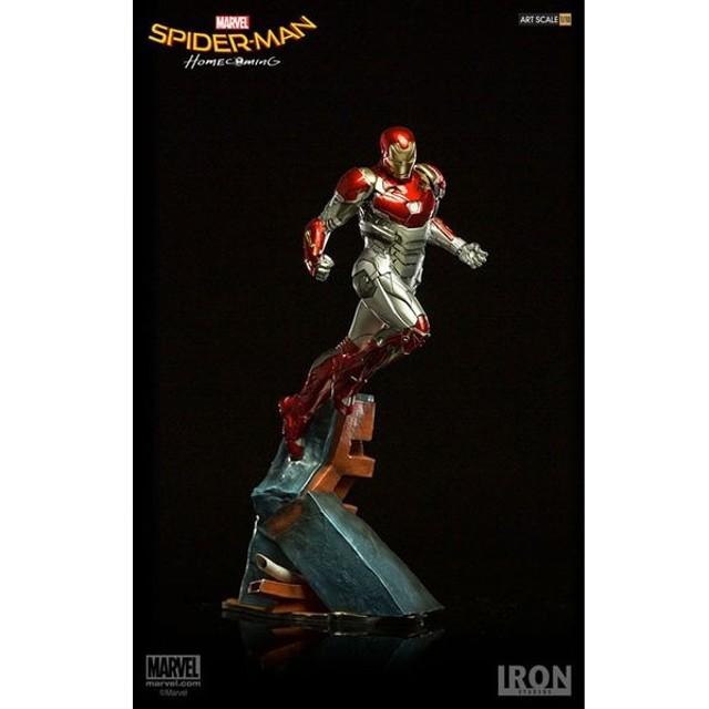 スパイダーマン ホームカミング/ アイアンマン マーク47 1/10 バトルジオラマシリーズ アートスケール スタチュー[アイアン・スタジオ]《在庫切れ》