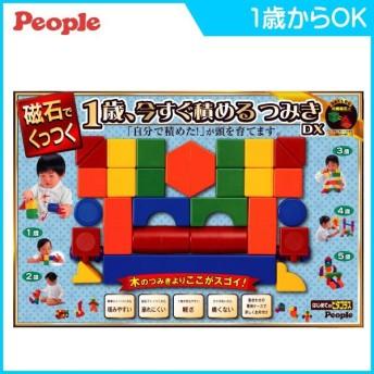 積木 1歳、今すぐ積めるつみきDX ピタゴラス 積み木 ブロック ピープル people 磁石入り マグネット 知育玩具 おもちゃ ギフト プレゼント 誕生日 連休 帰省