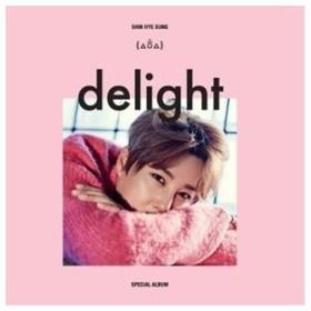 輸入盤 SHIN HYE SUNG (SHINHWA) / SPECIAL ALBUM : DELIGHT [CD]