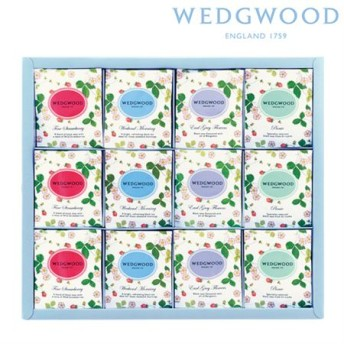【ギフトに】ウェッジウッド ワイルド ストロベリー ティーバッグセットA【内祝い・出産内祝いにも】