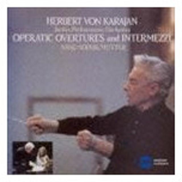 ヘルベルト・フォン・カラヤン(cond) / オペラ序曲、間奏曲集 [CD]