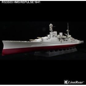 RSシリーズ 1/350 英・巡洋戦艦 レパルス用(TP社用) ディテールアップパーツセット[ライオンロア]《在庫切れ》