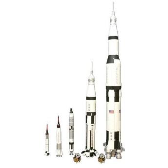 1/200 アメリカ宇宙開発史ロケットセット プラモデル(再販)[AMT]《在庫切れ》