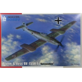 1/72 独・ブロームウォントフォスBv155V-1高高度戦闘機 プラモデル[スペシャルホビー]《在庫切れ》
