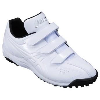 アシックス 野球 トレーニングシューズ NEOREVIVE TR SFT144 0101 ホワイト×ホワイト 【2018SS】