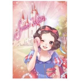 ディズニー ジグソーパズル〈スウィート バッグ コレクション〉 白雪姫(SBC)〈ステンドアート〉 266ピース(DSG-2668-785)[テンヨー]《在庫切れ》
