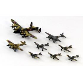 1/700 スカイウェーブシリーズ WWII イギリス空軍機セット 1 スペシャル プラモデル[ピットロード]《在庫切れ》