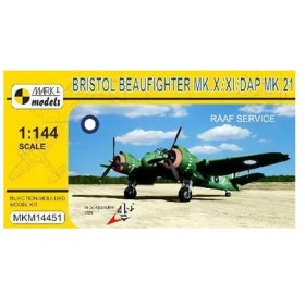 1/144 ブリストルボーファイターMk.X/XI/DAP Mk.21 「オーストラリア空軍」 プラモデル[マークワンモデル]《在庫切れ》