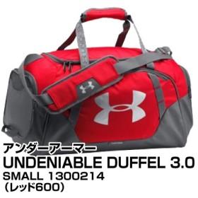 ボストンバッグ アンダーアーマー UNDENIABLE DUFFEL 3.0 SMALL 1300214 レッド600_0190510425728_91