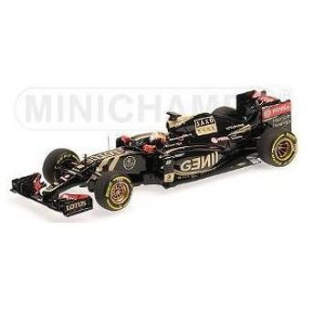 1/43 ロータス F1チーム ロータス E23 ハイブリッド R.グロージャン 2015[ミニチャンプス/ポールズ・モデル・アート]《取り寄せ※暫定》