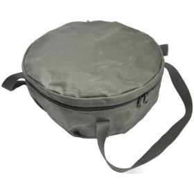 アソビト 12インチ 深型キャンプオーブン 防水帆布ケース/アウトドア キャンプ ダッチオーブン