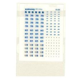 E010 阪急電鉄 各種ステッカー[C] インスタントレタリング 1枚入[ジオマトリックス・デザイナーズ・インク]《在庫切れ》