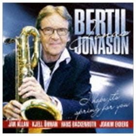 """ベルティル""""ヨナス""""ヨナソン(ts、bs) / アイ・ホープ・イッツ・スプリング・フォー・ユー [CD]"""
