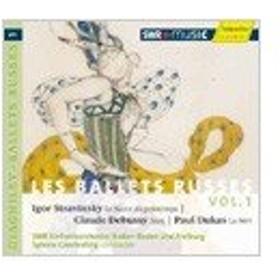 シルヴァン・カンブルラン Les Ballets Russes Vol.1 - Stravinsky: Le Sacre du Printemps; Debussy: Jeux; Dukas: La CD