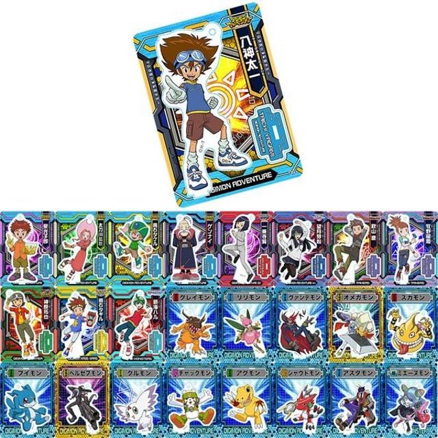 デジモンシリーズ アクリルdeカード 第1弾 25個入りBOX[Brujula]《在庫切れ》