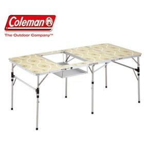 コールマン スリム四折BBQテーブル 170-7638 アウトドア テーブル キャンプ