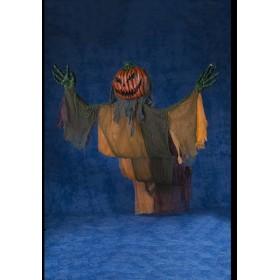 ハロウィン ハンギングカーテンホラーパンプキン(DXL) HW-1495 友愛玩具 YOU&I パーティ 仮装 イベント 室内装飾 ドクロ