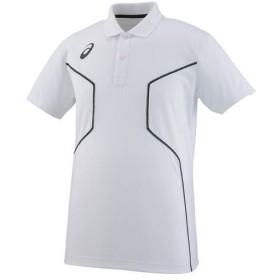 【クーポン発行中】 アシックス ASICS メンズ ユニセックス トレーニング ウェア ポロシャツ XA6225-01 ホワイト 【2018SS】 【aiai】