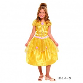 53f533d6c46d4 eones)子供用ドレス ベル 薔薇スパンコール ふんわり しっかり3層構造 ...