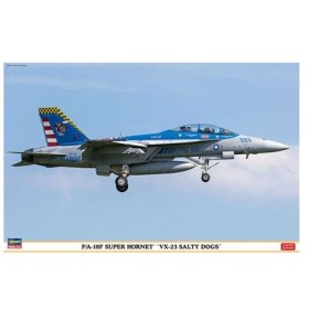 """1/48 飛行機シリーズ F/A-18F スーパーホーネット """"VX-23 ソルティドッグズ"""" プラモデル[ハセガワ]《在庫切れ》"""