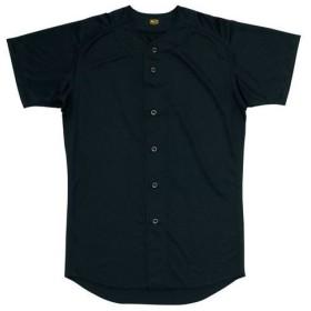 ゼット 野球 ウェア ユニフォームシャツ BU1071 1900 ブラック 【ztzt】