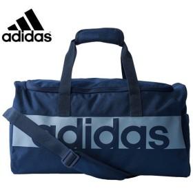 アディダス スポーツバッグ ボストンバッグ(27L) リニアロゴチームバッグS (S99955)2017SS