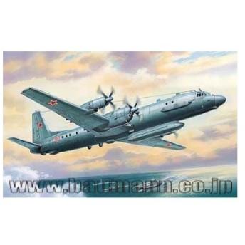 1/72 イリューシンIL-20/24クート電子戦偵察機 プラモデル[Aモデル]《在庫切れ》