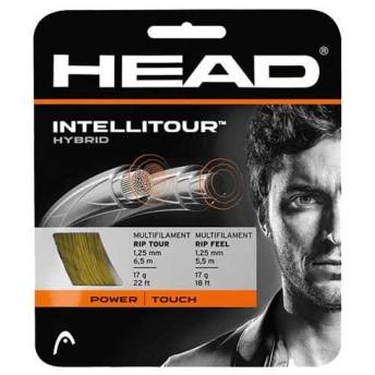 【お試し12Mカット品(メイン6.5mクロス5.5m)】【ハイブリッド】ヘッド インテリツアー(1.25mm/1.30mm) 硬式テニスガット(Head INTELLITOUR)281002