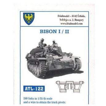1/35スケール 金属製可動履帯シリーズ バイソンI/II用(再販)[フリウルモデル]《在庫切れ》