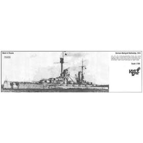 1/700 独弩級戦艦マルクグラーフ Eパーツ付・1914 レジンキット(再販)[コンブリック]《在庫切れ》