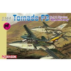 """1/144 イギリス空軍 トーネードF3 第111飛行隊""""90周年アニバーサリー"""" プラモデル[ドラゴンモデル]《在庫切れ》"""