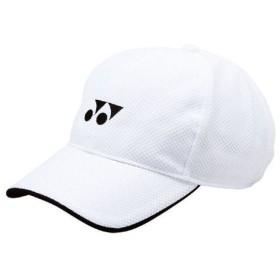 ac5d926072899 ヨネックス テニス メンズ レディース 帽子 メッシュキャップ 40002 011 ホワイト【stst】