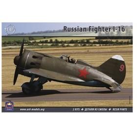1/48 ポリカルポフ I-16 (2機セット) ※レジンパーツ1機分付属 プラモデル[アークモデルズ]《在庫切れ》