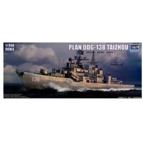 1/350 中国人民解放軍海軍 DDG-138 タイツォウ プラモデル[トランペッターモデル]《取り寄せ※暫定》