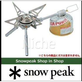 snow peak スノーピーク ヤエン ストーブ レギ  GS-370 キャンプ用品 アウトドア用品
