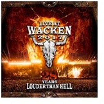 LIVE AT WACKEN 2017 - 28 YEARS LOUDER THAN HELL【輸入盤】▼/VARIOUS ARTISTS[CD+DVD]【返品種別A】