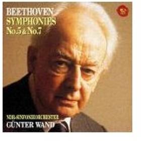 ベートーヴェン:交響曲第5番「運命」&第7番/ヴァント(ギュンター)[CD]【返品種別A】
